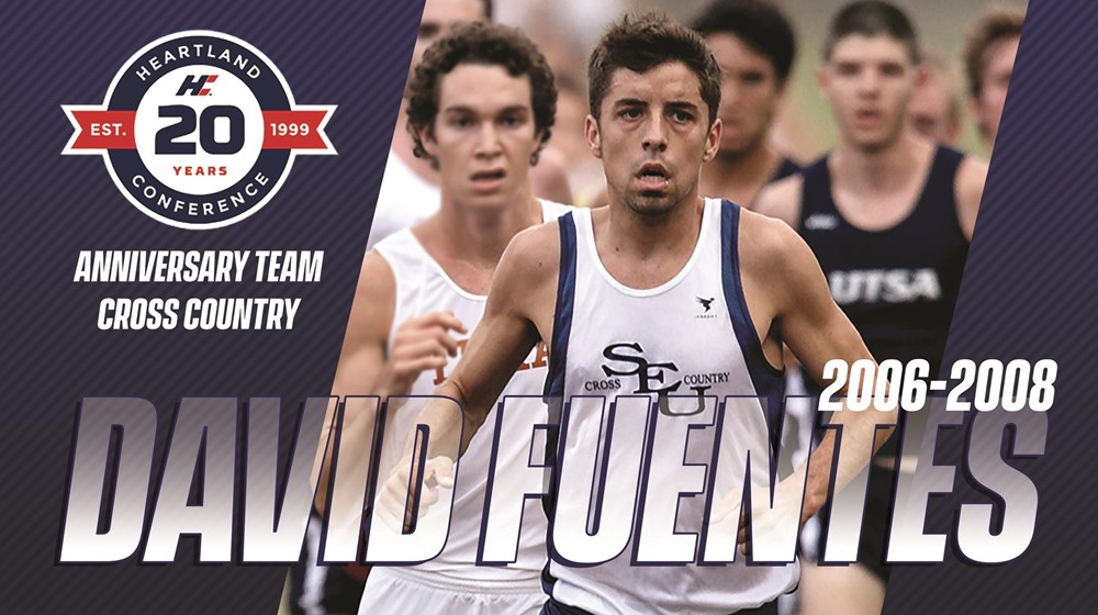 3d8ab18bba5 FUENTES EARNS SPOT ON 20TH ANNIVERSARY HEARTLAND CONFERENCE CROSS COUNTRY  TEAM