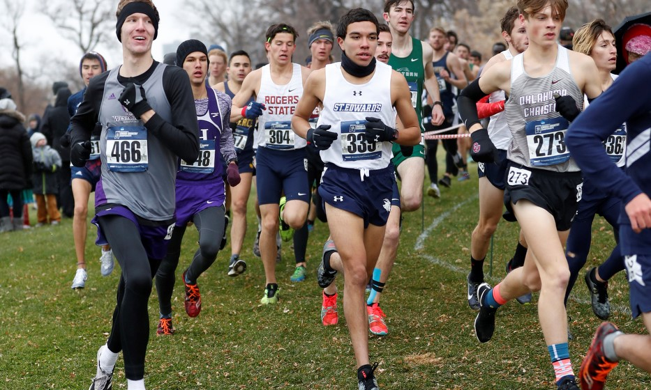 667de602c45 FUENTES EARNS SPOT ON 20TH ANNIVERSARY HEARTLAND CONFERENCE CROSS COUNTRY  TEAM - St. Edward s University Athletics